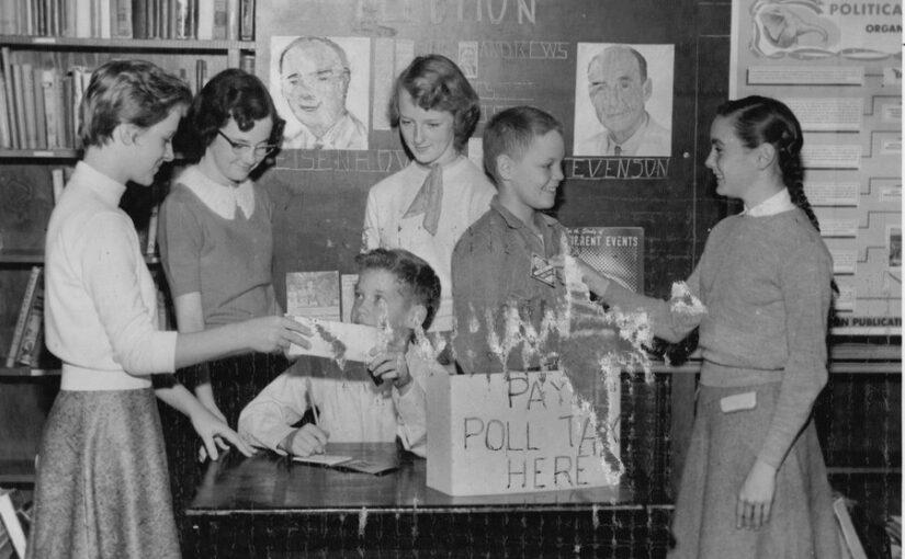 Eisenhower vs. Stevenson: Student Election